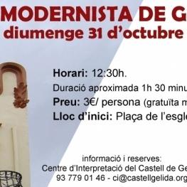 Ruta Modernista en octubre