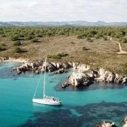 En velero en el Festival de Jazz de Formentera