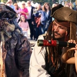 The best Pirate Show in Barcelona. Enjoy like a real pirate