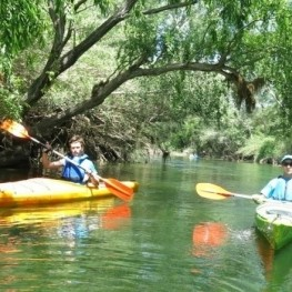 Descent of the Ebro in a canoe: from Flix in the Sea in 4 days