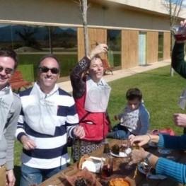 Visit of Pruning and Calçotada Brunch