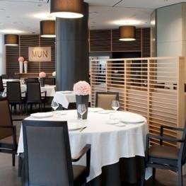 Menjazz - menu de dégustation au restaurant mun - hôtel don…