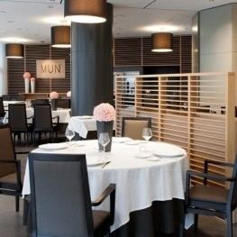 Menjazz - tasting menu at mun restaurant - hotel don candido