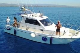 Journée de pêche avec la charte de Cambrils