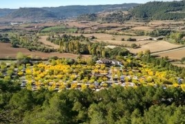 Spring with caravan