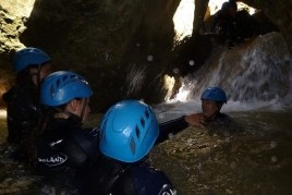 Activity Initiation to Canyoning in Solsonès