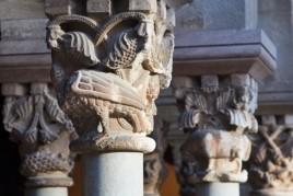 Audioguide Cloître roman: Le livre de pierre médiéval