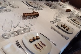 Foie tasting paired with wines, October 17 12h00