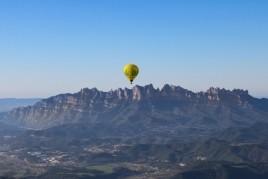 Vol en montgolfière à El Bages avec vue sur Montserrat