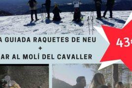 Pack mig dia a la neu + Dinar al Berguedà