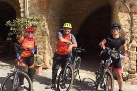 En route par le Baix Ter en vélo électrique