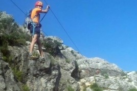 Via Ferrata Peñaflor, Los Reguers in Tortosa