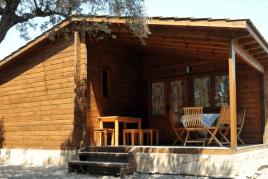Setmana santa a bungalow de fusta al Camping la Corona