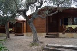 Sant Joan en un bungalow de fusta