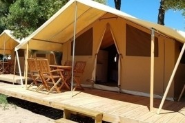 Offres de juillet en Lodges au Camping la Corona