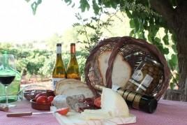 Desayuno entre viñedos