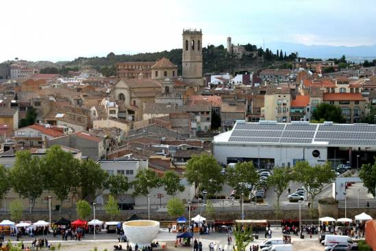 Tàrrega ( Vista General Del Centre)