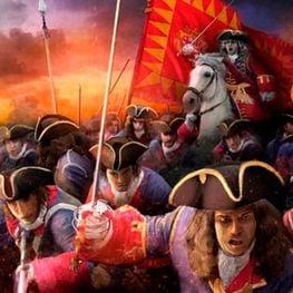 Las coronelas y sus batallones en 1714