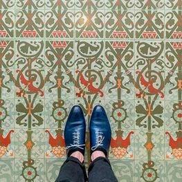 Barcelona, de mosaic en mosaic