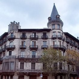 The charm of the facades of Barcelona