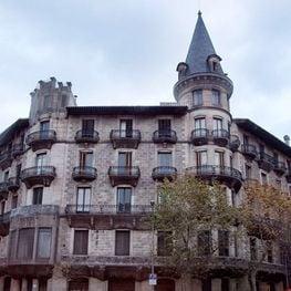 El encanto de las fachadas de Barcelona