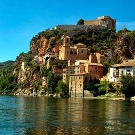 Por el interior del río Ebro