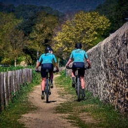 Route of the Coll de Can Benet in Santa Susanna