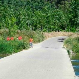 Ruta del Ter per Celrà, Bordils, Sant Joan de Mollet i Flaçà