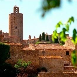 Route des châteaux sur la Costa Brava