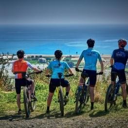 Bicycle route around Santa Susanna