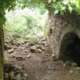 Route à travers Santa María de Sauva Negra à Balenyà