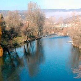 Siguiendo el río la Mugueta