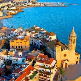 Sitges, a town accessible